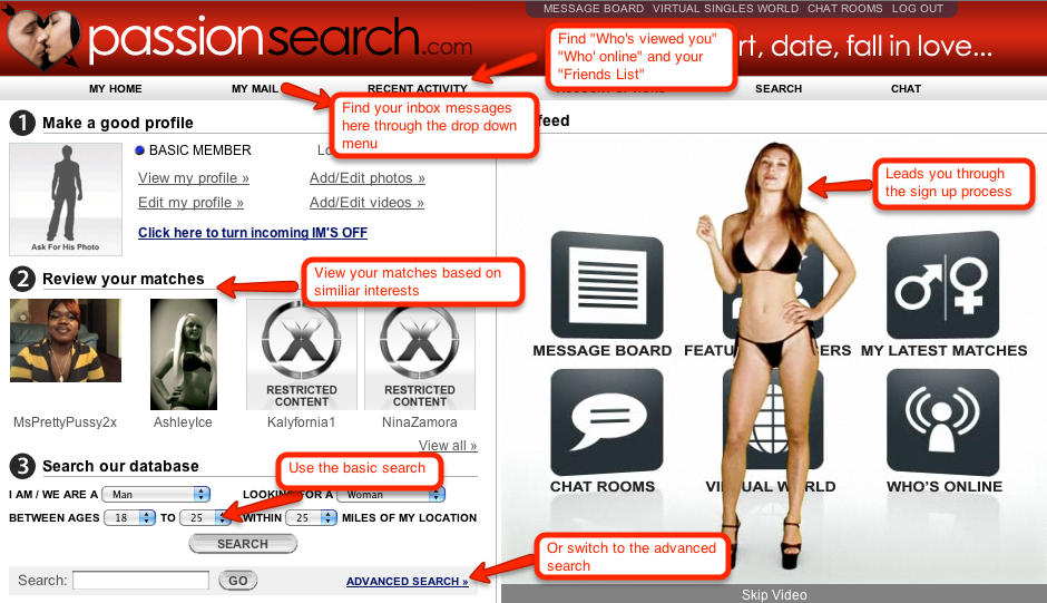 Passion dating site reviews