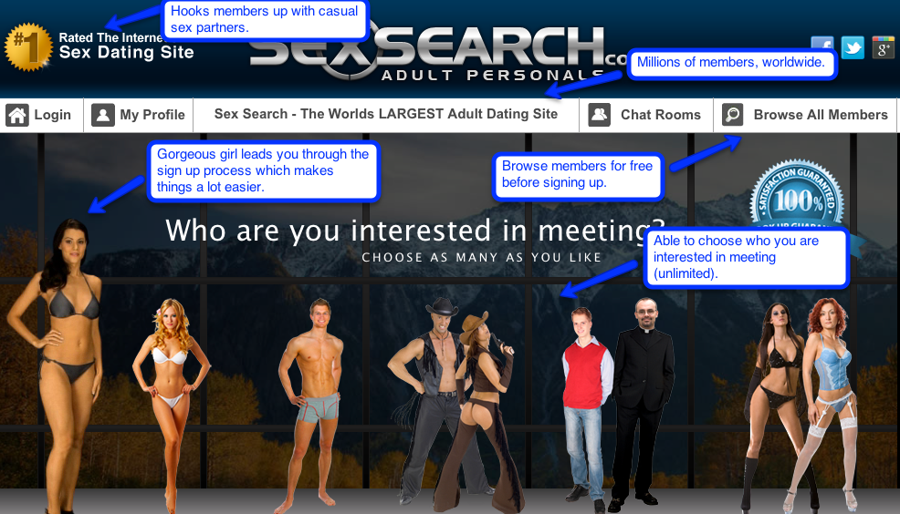 review sexsearch