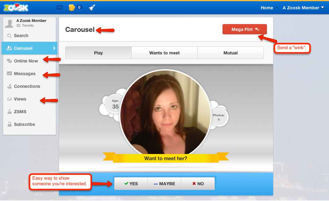 zoosk-features