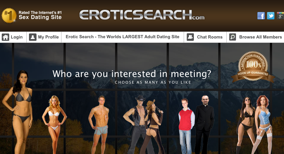 Search the erotic review
